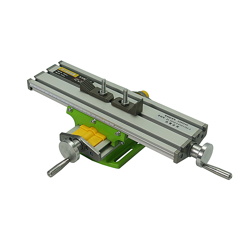 LY 6330 Miniature Precision Multifunction CNC Router Bench Drill Vise Fixture Worktable X Y-axis Adjustment Coordinate Table