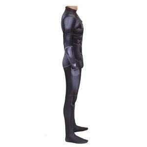 Image 3 - Disfraz de Batman The Dark Knight Rises, traje de Cosplay de Halloween con estampado 3D de cuerpo completo de Batman, Bruce