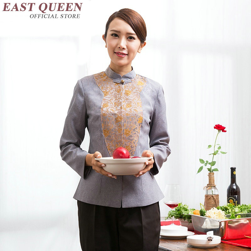 Restaurant Waitress Uniforms Hotel Restaurant Waitress Uniforms New Design Waitress Uniform Uniforms For Waiters  NN0173  W
