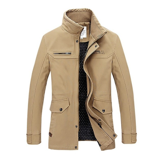 New 2017 Mens Winter Jackets And Coats Windbreaker Military Style Jackets For Men Army Jaqueta Coat Casaco Masculino
