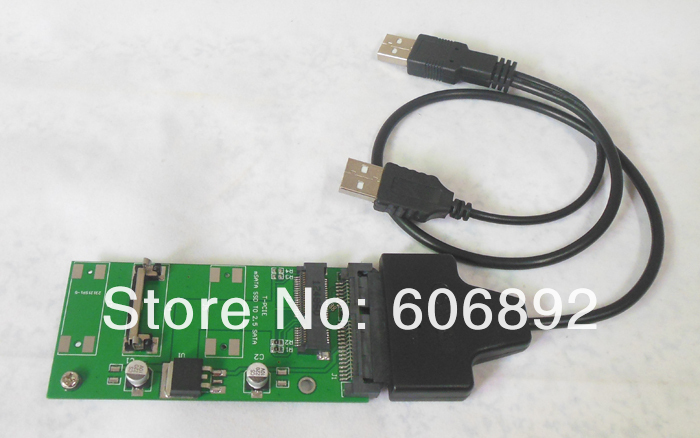 цены  Free Shopping 27MM 50mm 70MM mSATA mini SATA SSD to 2.5