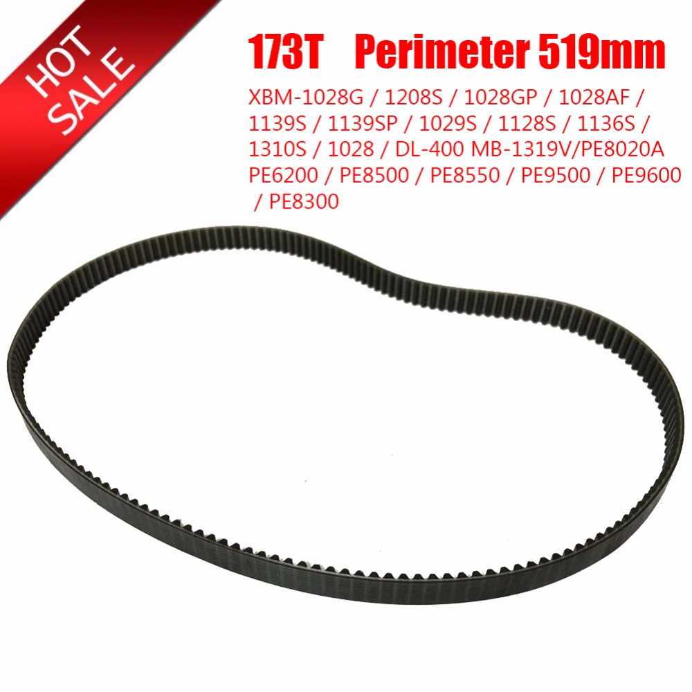 Breadmaker Conveyor Belts 173T Perimeter 519mm Bread Maker Parts Kitchen Appliance Accessories Parts Bread Machine Belts