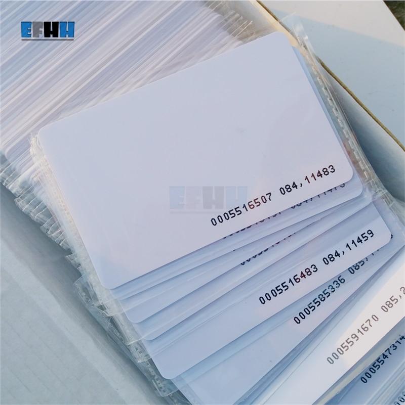 125KHZ TK4100/EM4100 RFID Card Read Only ID Card Access Control Card цены онлайн