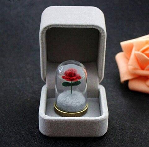 1 stück Kleine Prinz Rose/le petit prince/Der Kleine Prinz der rose halskette/Rose terrarium halskette /Valentinstag Geschenk