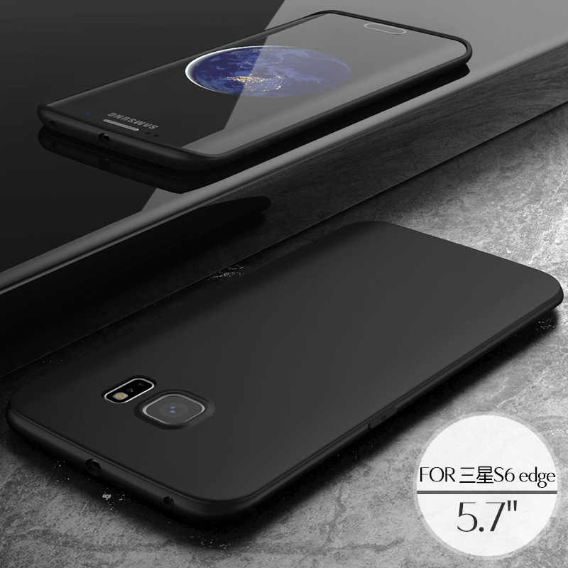 Classic Boomboos top quality soft TPU matte case for Samsung Galaxy S6 for S 6 edge in stock art serial slim touch