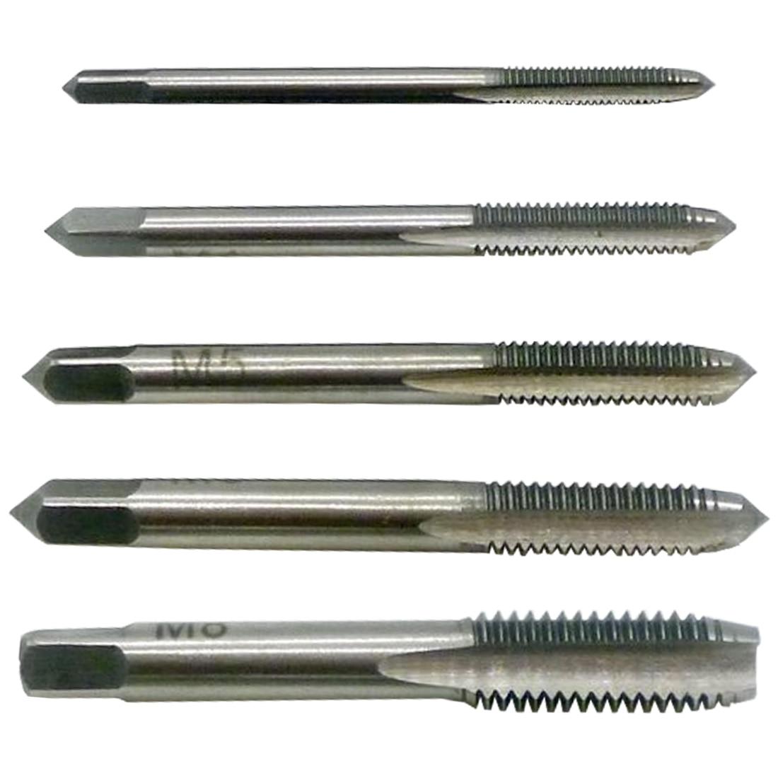 Offen M3/m4/m5/m6/m8 3 Stücke Rechten Hand Gewinde Tippen Schraube Tap Metric Stecker Hand Tap Hand Werkzeuge Werkzeuge Handwerkzeuge