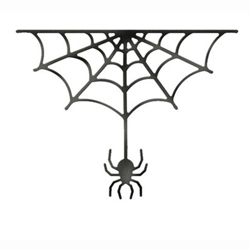 McDies Cutting Dies Halloween SpiderWeb Stencils DIY ...