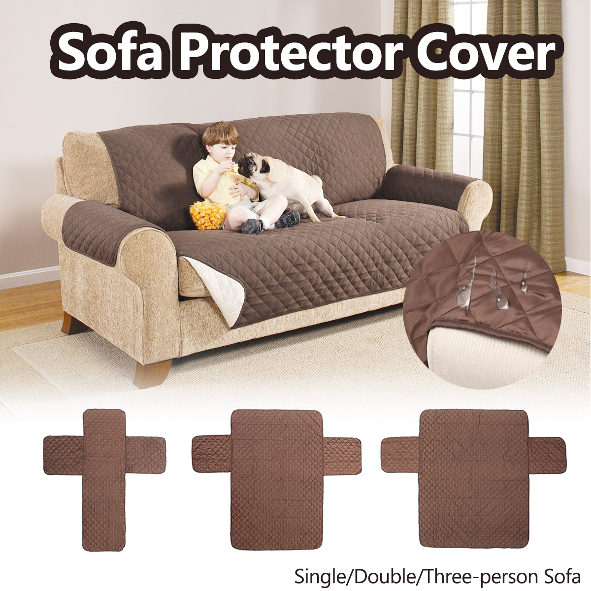 waterproof pet protector sofa cover comfortable bed singapore aliexpress buy single double three person