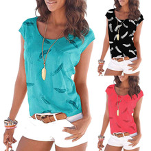 Summer Fashion T-shirt Plus Size 2XL Women