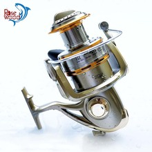 Cheap 1000-11000 Series Spinning Fishing Reel Saltwater 11 Bearing Trolling Sea Surf Casting Reels Low Profile Wheel China