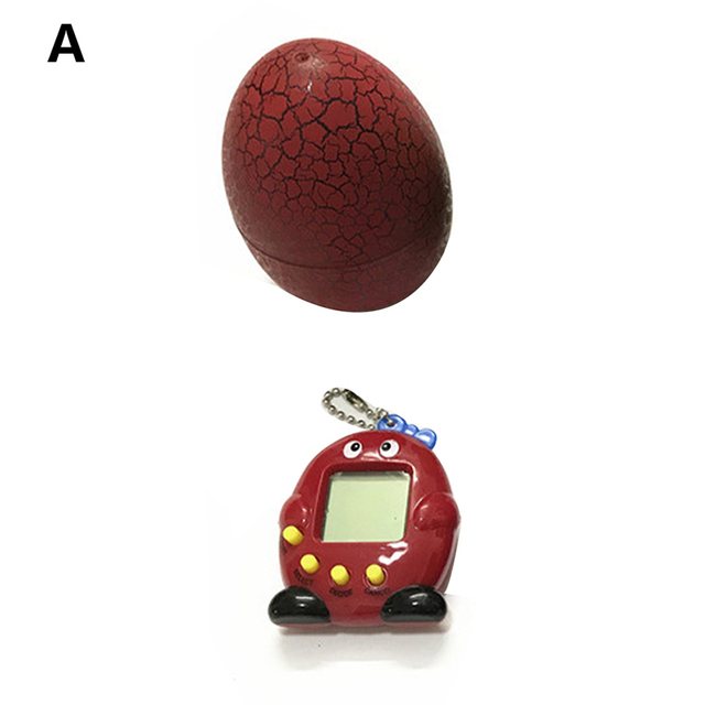 2019 Dinosaur Egg Tumbler Led Virtual Cyber Digital Pets Electronic Digital E-pet Retro Handheld Game Machine Toys For ChildrenElectronic Toys