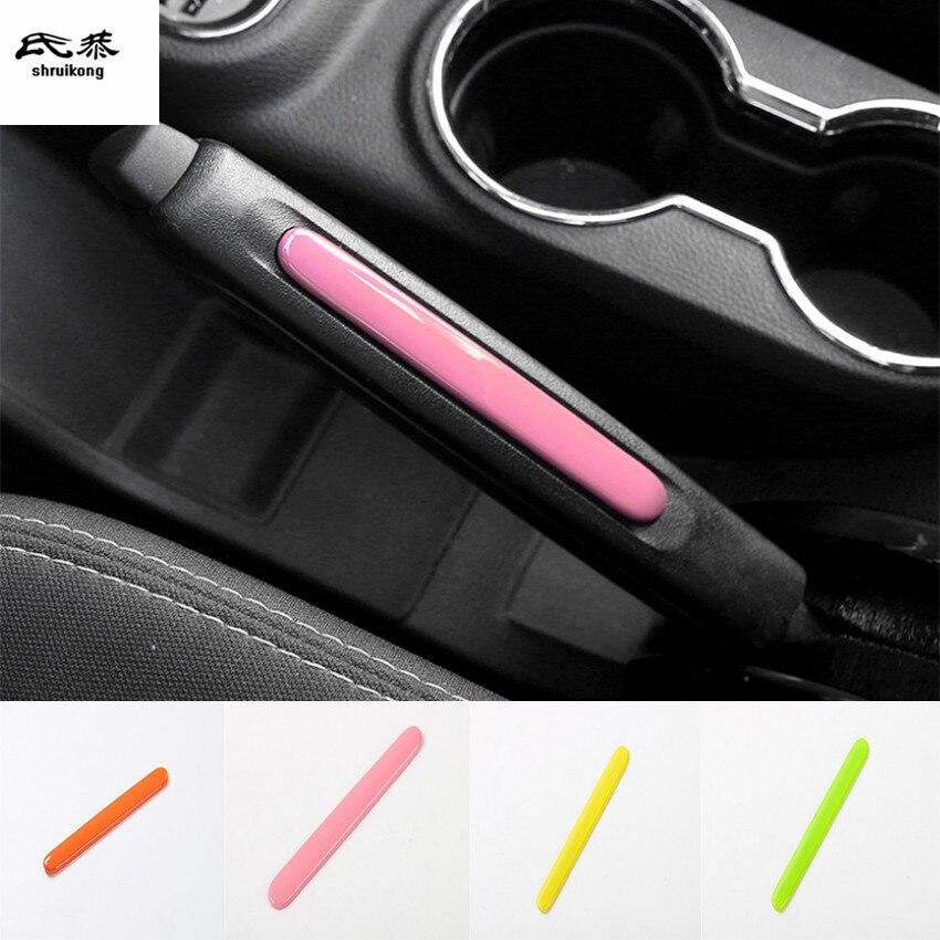 1 шт. автомобильные аксессуары, украшение для ручки ручного тормоза, блестки для 2011-2016 JEEP Wrangler JK