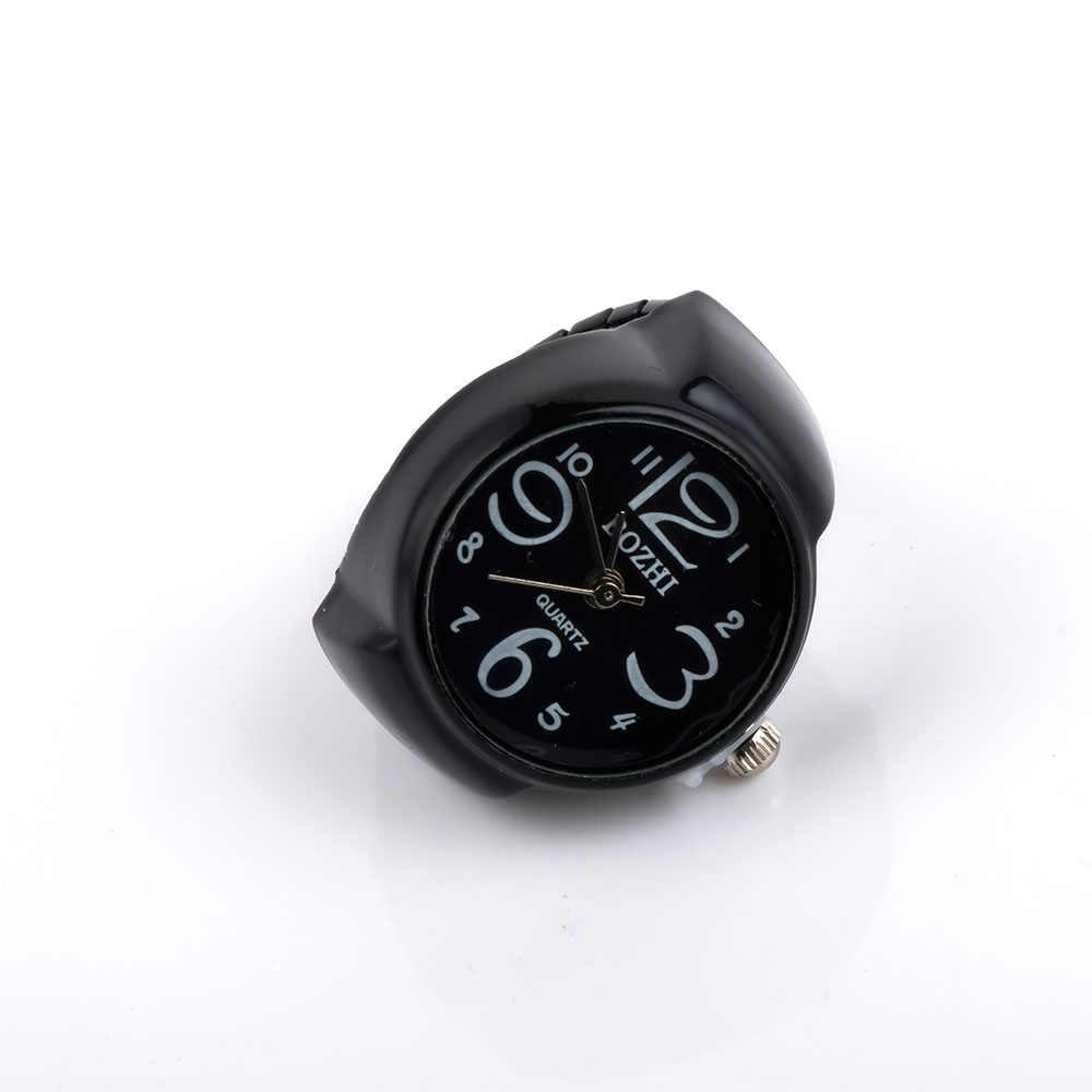 חתונה טבעות גברים ונשים אישית שעון מזדמן טבעת מספר ערבית הדיגיטלי Pocket תכשיטי טבעת אצבע