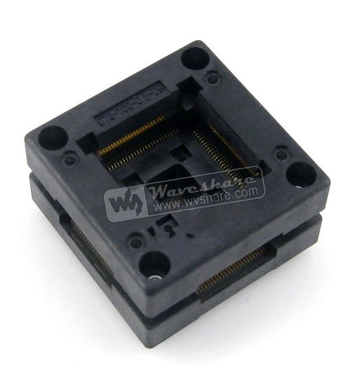 Parts Free Shipping QFP100 TQFP100 LQFP100 PQFP100 OTQ-100-0.5-09 Enplas QFP IC Test Burn-In Socket 0.5mm Pitch IC Body Size14*1 free shipping mc68hc908mr32cfu mc68hc908mr32 qfp ic 10pcs lot