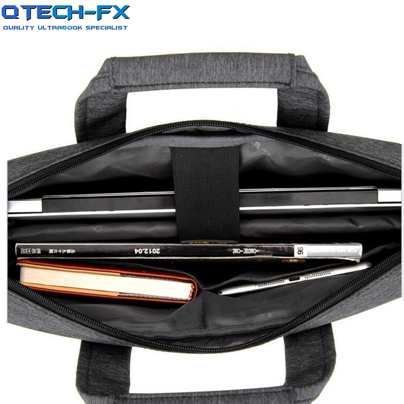 """17inch Laptop Bags Shoulder Cotton Fabric  Notebook for 15.6/17"""" HP Apple QTECH FX Lenovo Dell Computer-in Laptop Bags & Cases from Computer & Office    2"""