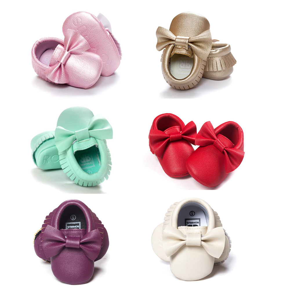 Baby Shoes PU Leather Newborn Boys