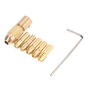 Mini adaptador de mandriles de taladro sin llave de 0,5-3mm, conjunto de abrazaderas de micro taladro, herramienta eléctrica, mini taladro eléctrico, accesorios dremel