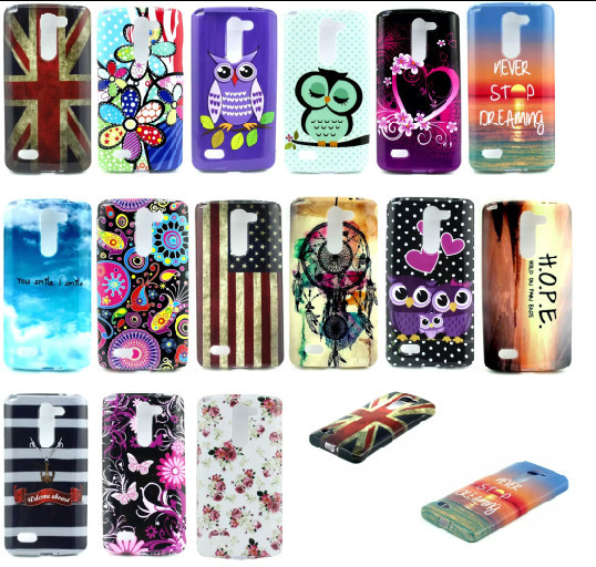 new style d975f b902b US $1.96 |For LG L Bello D331 D335 LG L Prime D337 phone Case New Lovely  Pattern Soft TPU Silicon Cover Back Case Cover +Free shipping on ...