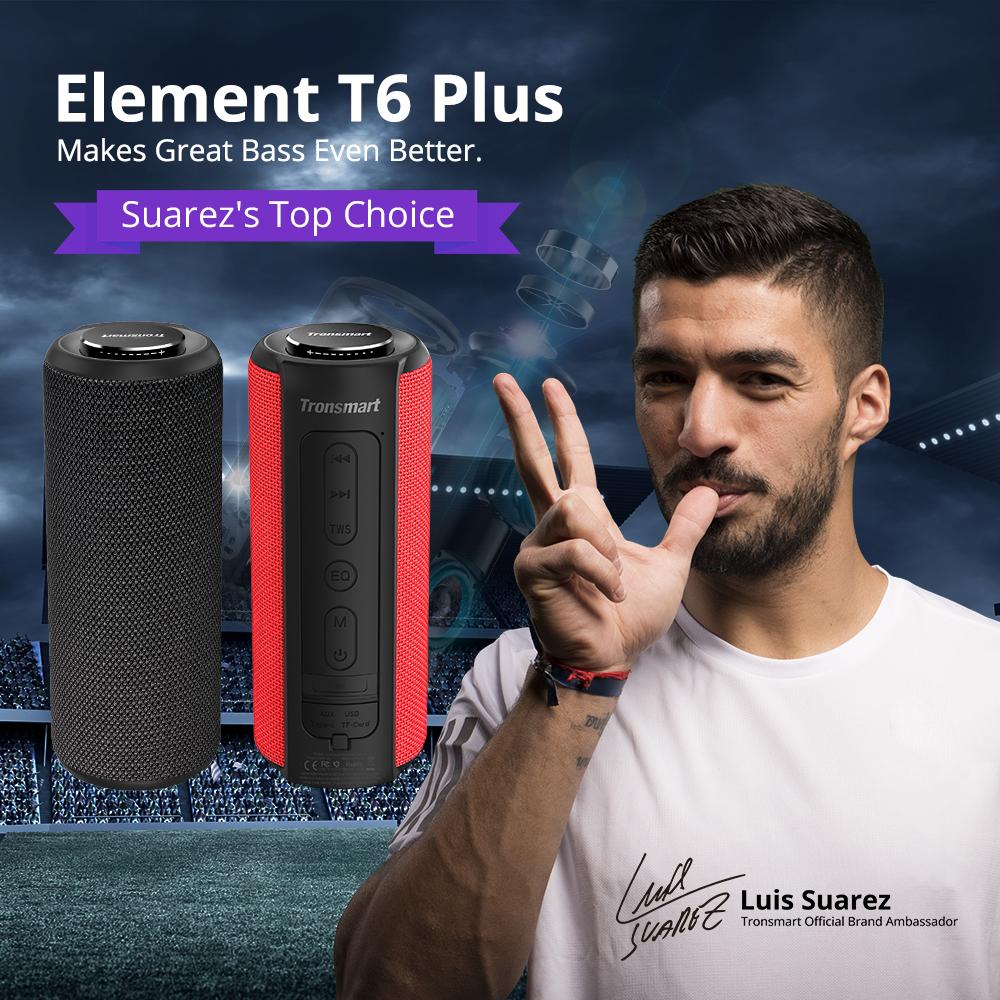 Tronsmart T6 Plus Altavoz Bluetooth portátil 40W 19