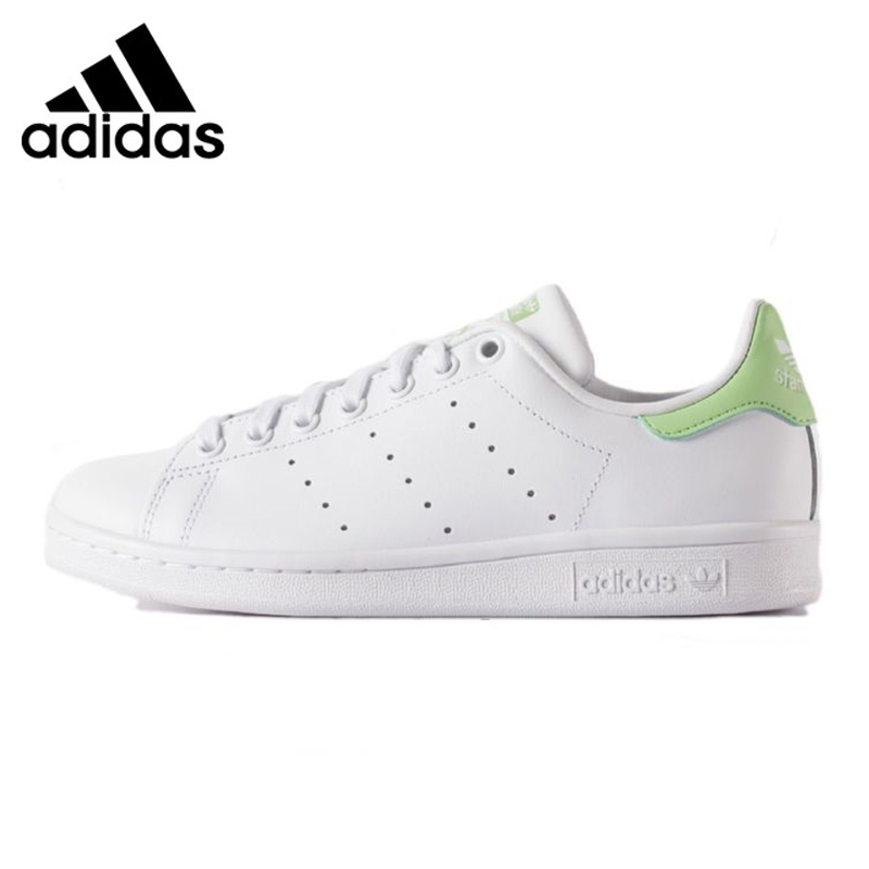 Adidas STAN SMITH Women's Walking Shoes, Green & Pink, Non-slip Lightweight Breathable Shock-absorbing BB5442 BA9946 adidas stan smith shamrock men s and women s walking shoes pink grey balance lightweight breathable s75075 s80024
