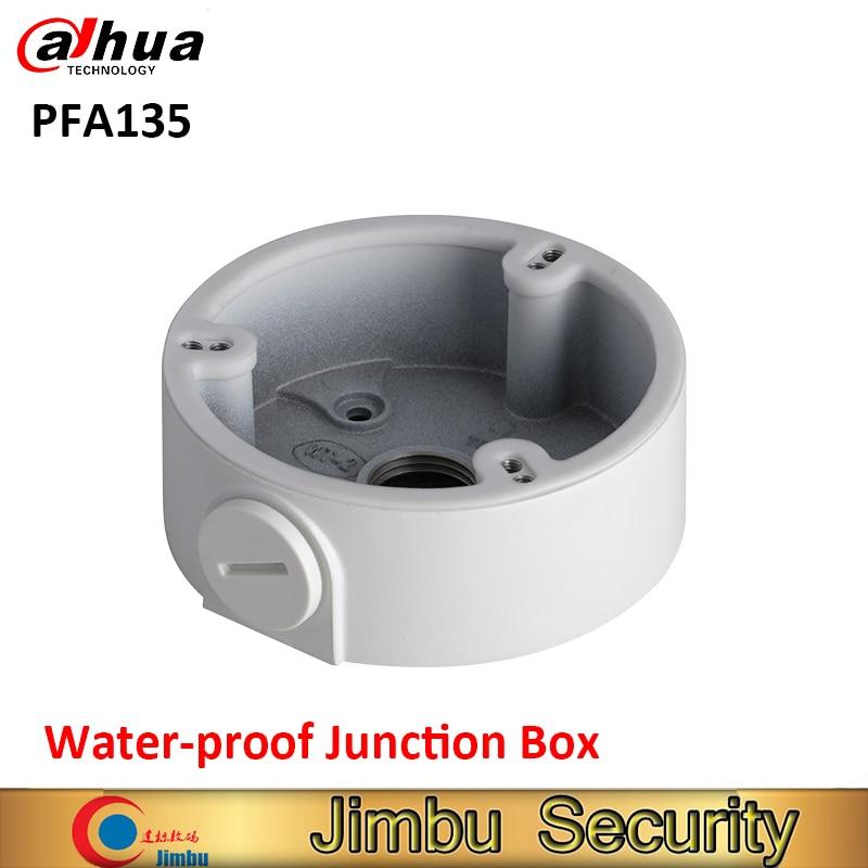 DAHUA PFA135 waterpfoof Junction Box CCTV Accessories Aluminum IP Camera Brackets dahua water proof junction box pfa132 cctv accessories ip camera brackets pfa132