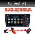 2DIN Автомобиль DVD GPS Для Audi A3 S3 2002-2011 Canbus Радио GPS Bluetooth 1080 P 3 Г USB хозяин Ipod Карта