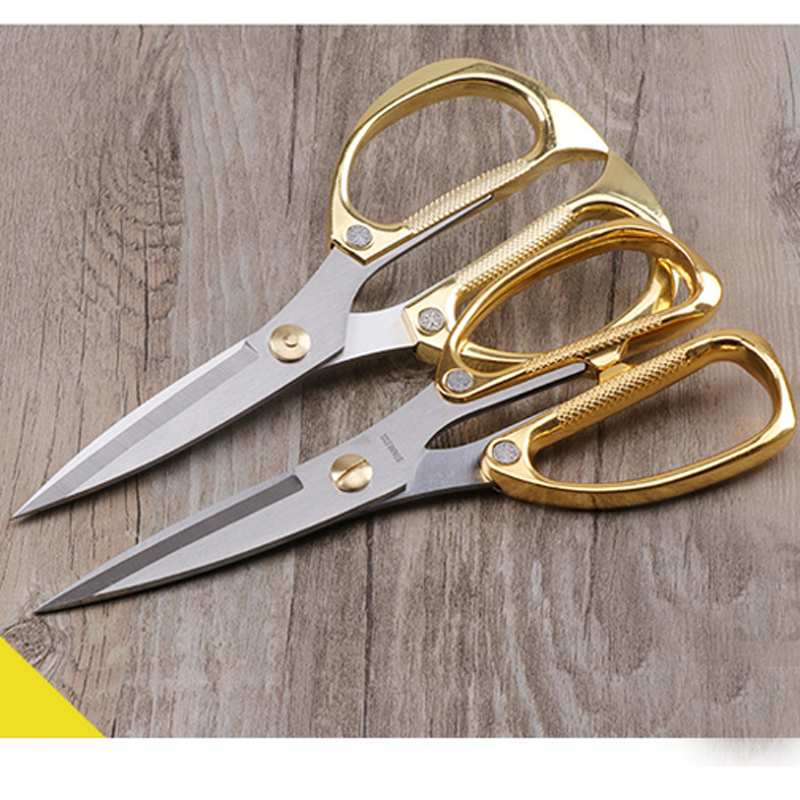 Fashion Professional Vintage Steel Antique Trimming Scissor Pinking Shears Fabric Craft Tailor Scissor Embroidery Scissors