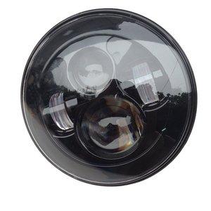 "Image 5 - 1ชุดสำหรับHarley Moto 7 ""LEDไฟหน้า4.5"" ไฟLedสำหรับHarley MotoรีไซเคิลMotoรีไซเคิล7 ""อะแดปเตอร์แหวน"