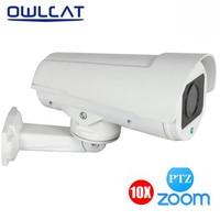OWLCAT HI3516C AR0237 IP Camera PTZ Outdoor Bullet Full HD 1080P 2MP 4X Zoom CCTV Security