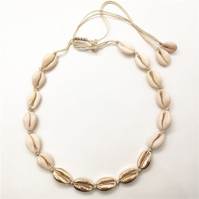 Shell Necklace - 13 Style 4
