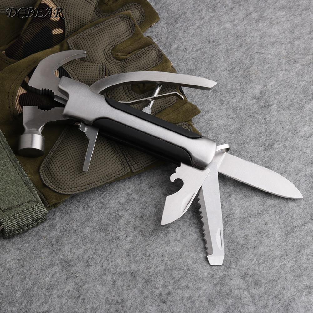 De Poche multi-usage Pince EDC DCBEAR Outils Camping couteau de survie Pliant Pince Conbination En Plein Air outils à main CH135