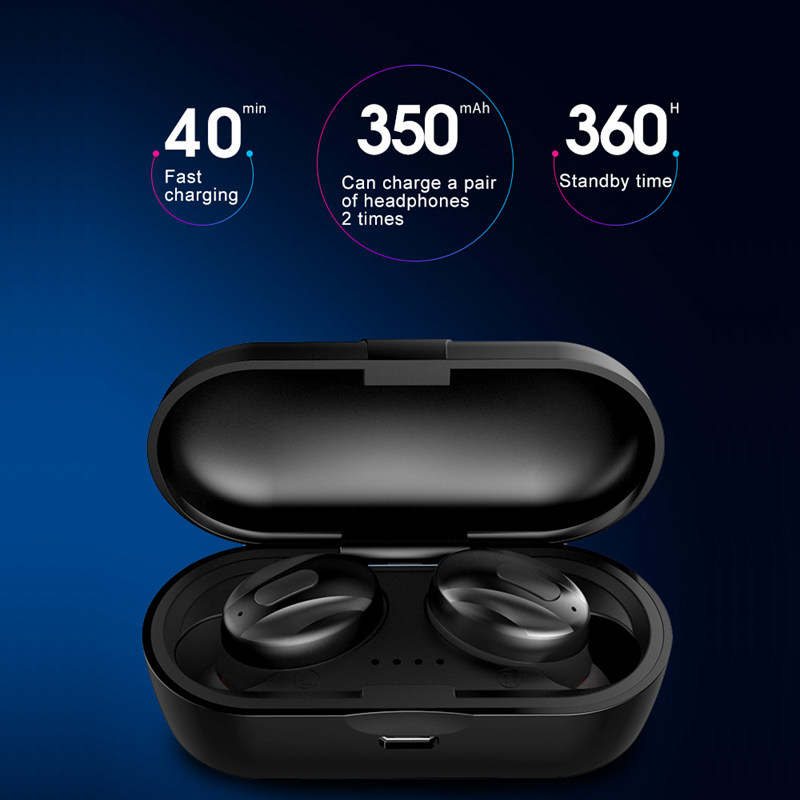 Image 4 - TWS XG 13 Mini Dual V5.0 Wireless Earphones Bluetooth Earphones 3D Stereo Sound Earbuds with Dual Microphone With Charging box-in Bluetooth Earphones & Headphones from Consumer Electronics