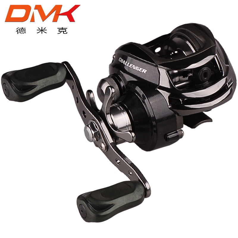 Bait Casting Fishing Reel <font><b>DM120</b></font> RA-C1 11BB 6.3:1 Right Hand Water Drop Wheel Baitcasting Reels Fishing Tackle image