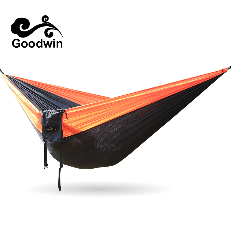 Outdoor Parachute Hammock 3*2m Cot Camping Bed Iqammocking Mahogany Hammock Portable Outdoor Sleeping Hammock Bad Hamaca