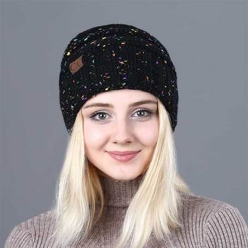 Women Top Warm Winter For Women Beanies Caps Skullies 1