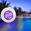 Светильник для плавательного бассейна RGB с дистанционным управлением  солнечная энергия  светодиодная цветная садовая Водонепроницаемая п...