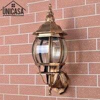 Antieke Tuin Lampen Vintage Outdoor Wandlampen Pathway Bar Blaker Brons Aluminium Industriële Lampen Led Verlichting Lamp