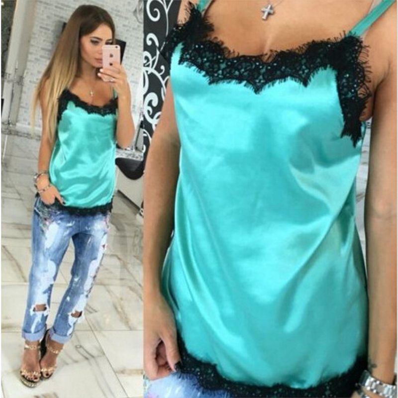 Image result for shirt under camisole blue fashion 2017
