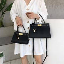 TOYOOSKY Fashion Women Handbags Solid Pu Leather Shoulder Ba