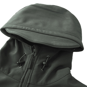 Image 5 - Men autumn winter jacket coat soft shell shark skin clothes, waterproof military clothing camouflage jacket