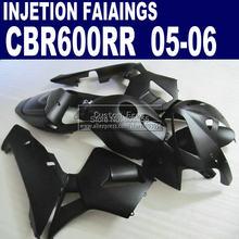 ABS Injection body fairings set for Honda matte black CBR 600RR fairing CBR 600RR 2005 2006 CBR600RR 05 06 motorcycle bodykit
