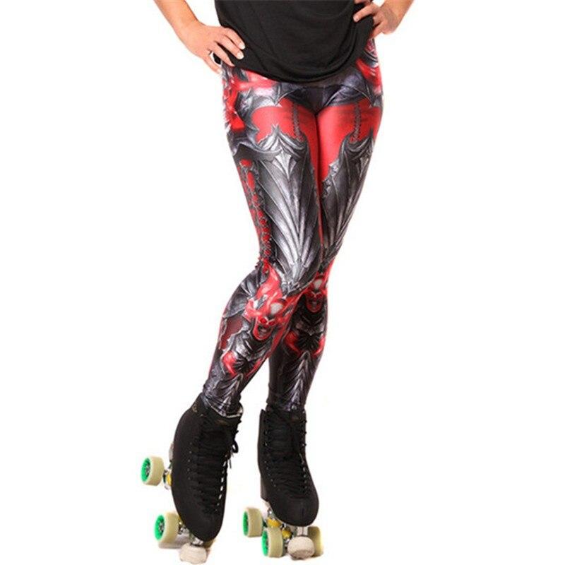 10 Styles New  Women leggings Super HERO Deadpool Leggings Printed legging for Woman Yoga Fitness Running pants  3