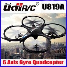 5MP HD Камера не является обязательным, 34*34 СМ Супер Большой Высокое Качество Нового новое прибытие 4CH Мультикоптер Udi U819A беспилотный Безголовый модели VS UDI U818A