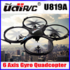 5MP HD Camera is optional,34*34CM Super Big High Quality New Arrival 4CH Quadcopter Udi U819A drone Headless model VS UDI U818A