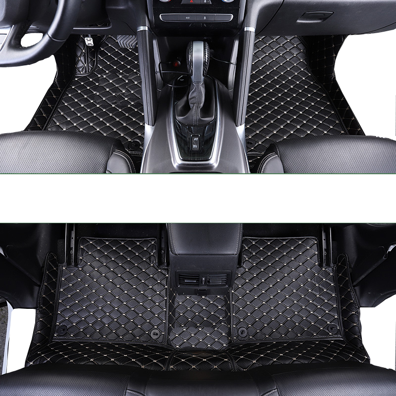 lsrtw2017 leather car interior floor mat for renault megane 4 3 2 2016 2017 2018 2019 2020 2015 2014 2013 rug carpet accessories in Floor Mats from Automobiles Motorcycles