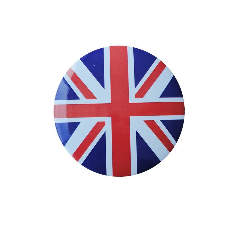 Wholesale cheap custom logo sign printed button badge manufacturer american flag K200334