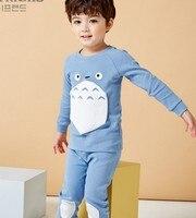 Kids Pajamas 2017 Autumn Children Clothing Set Girls Pijamas Kids Pajam Sleepwear For Boys Pajamas Baby
