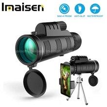 40X60 HD портативный монокуляр телескоп телеобъектив оптическая призма объектив для мобильного телефона