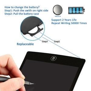 """Image 5 - NEWYES 8.5 """"Điện Tử EWriter LCD Viết Máy Tính Bảng Vẽ Paperless Kỹ Thuật Số Graffiti Viên Notepad Viết Lại Pad (Xanh Dương)"""