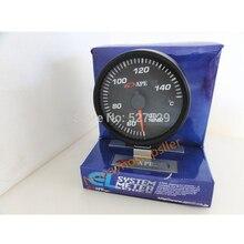 Высокое Качество BF 60 мм Температуры Масла Метр Гоночный Автомобиль температура Масла датчики с Красный и Белый Свет и Датчик